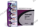 Maxell 357 - SR44W Silver-Oxide Battery 1.55V