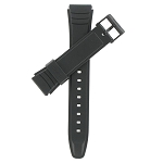 19mm AW49HE Black Casio Watch Band