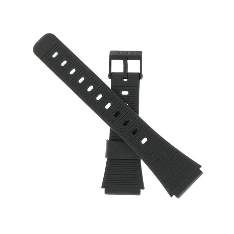2d9ed5757 20mm CA50 Black Casio Watch Band. Tap to expand