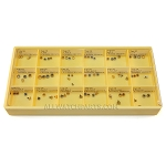 Watch Crown Assortment (72 PCS) - Tap 10, Gold & Stainless Steel