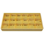Watch Crown Assortment TAP 11, 12, 13 - Gold & Stainless Steel 72pcs
