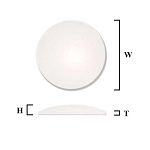 2.0mm Large Single Dome Crystal (35.5mm-50.0mm / 0.5mm increment)