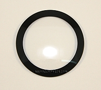 1.0mm Double Dome Black Ring Crystal (17.0mm-35.0mm / 0.1mm Increment)
