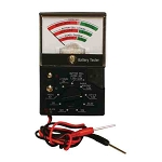 Gemoro 9 Position Battery Tester Model for AAA, AA, Button Cells, 9V, 12V