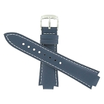 13mm Casio EFA111L-2A Navy Blue Leather Band