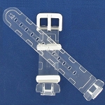 14mm BG169-7 Clear Casio Watch Band