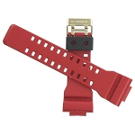 16mm Casio GD100RF-4 Red Watch Band