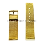 Gold Stainless Steel Mesh Band (24mm)
