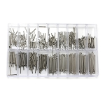 0.8MM Cotter Pins Assortment (360PCS, 6mm-23mm / 1mm increments)