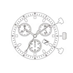 MIYOTA JS06 Watch Movement