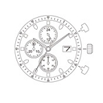 MIYOTA JS16 Watch Movement