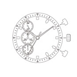 MIYOTA JS55 Watch Movement