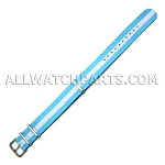 NATO Ballistic Nylon White In Blue Strap (20mm)