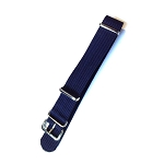 NATO Ballistic Nylon Dark Blue Strap (16 - 24mm)
