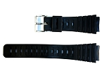 20.0MM Rubber Plastic Diver Band in Casio & Seiko styles (P3102)
