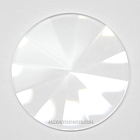 1.0mm Pyramid Crystal Assortment 35pcs (17.0mm-34.0mm / 0.5mm increment)