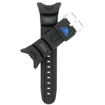 16mm SPF40 Pathfinder Black Casio Watch Band