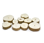 Pithwood Button Assorted Pack 10pcs