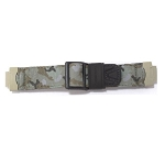 19mm Casio G314RC Green Camo Cloth Band