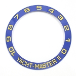 Bezel Insert To Fit Rolex Yacht-Master II - 42.0mm Blue / Gold Ceramic