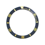 Bezel Insert To Fit Rolex Submariner - 40.0mm Black / Gold Ceramic