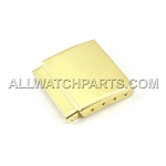 Gold Clasp Extension w/Step Assortment - 14pcs