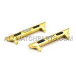 Gold Apple Watch Band Adapter 2pcs