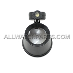 Plastic Loupe 6X with LED light