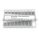1.2mm Single Flange Thin Spring Bar Assortment - 170pcs (6mm-22mm)