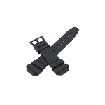 15mm TRT500 Black Casio Watch Band