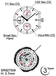 Hattori YM92 Watch Movement