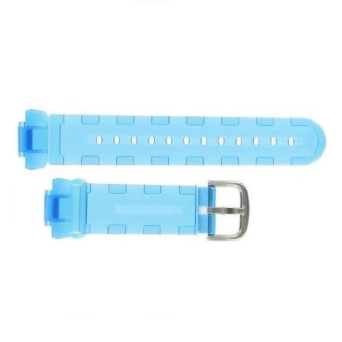 14mm Casio BG1001-2 Clear Blue Resin Band