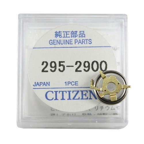Original Citizen Capacitor Battery 295-29 for Eco-Drive