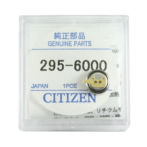 Original Citizen Capacitor Battery 295-60 for Eco-Drive