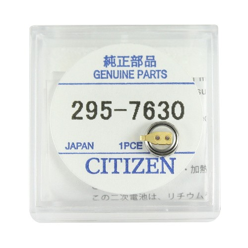 Original Citizen Capacitor Battery 295-763 for Eco-Drive