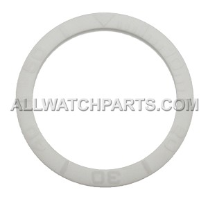 Bezel Insert To Fit Rolex Submariner - 40.0mm All White Ceramic