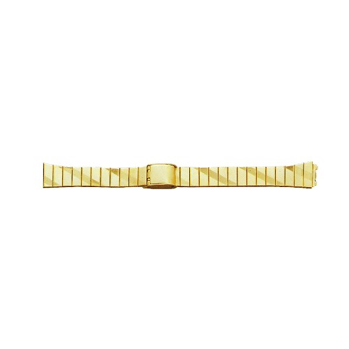 Ladies Metal Watch Band Gold Color (14mm)