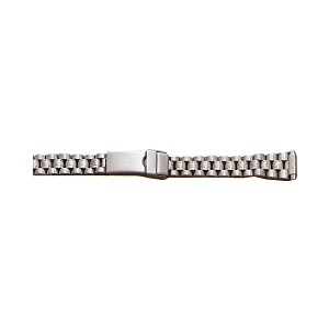 Ladies Metal Watch Band Silver Color (10 - 14mm)