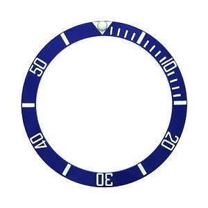 Bezel Insert To Fit Rolex Submariner - 40.0mm Blue / White Ceramic