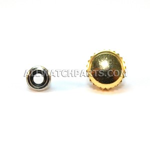 7.0MM Screw Down Crown & Threaded Tube Set to Fit Rolex Watches