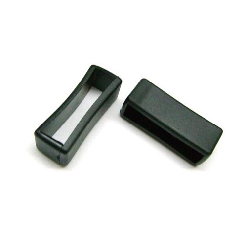 Black Silicone Strap Keeper (16mm-30mm)
