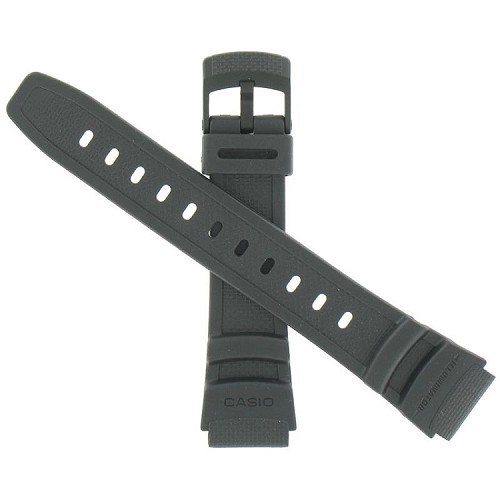 18mm W93H Black Casio Watch Band